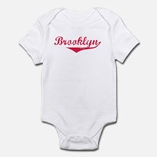 Brooklyn Red Infant Bodysuit