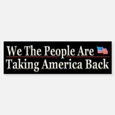 Taking America Back - Bumper Bumper Sticker
