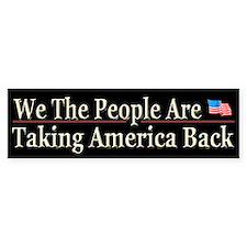 Taking America Back - Bumper Sticker