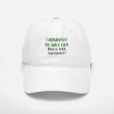 alphabetize spice rack Baseball Baseball Cap