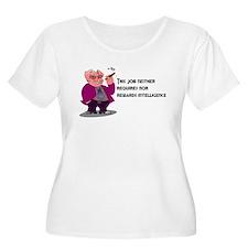 Sarcastic Rewards Women's Plus Size T-Shirt