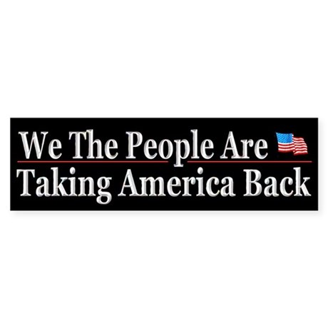 We Are Taking America Back