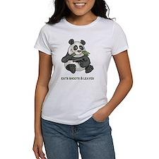 Panda Eats Shoots & Leaves Tee