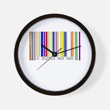 Lesbian Barcode Wall Clock
