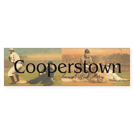 ABH Cooperstown Sticker (Bumper)
