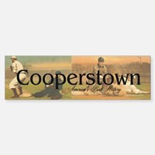 Cooperstown Americasbesthistory.c Bumper Bumper Sticker