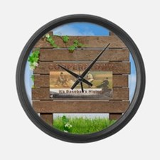 Cooperstown Americasbesthistory.c Large Wall Clock