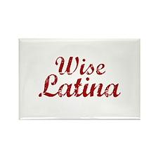 Wise Latina Sotomayor Rectangle Magnet