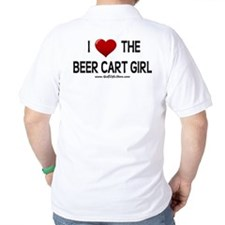 I Love The Beer Cart Girl T-Shirt