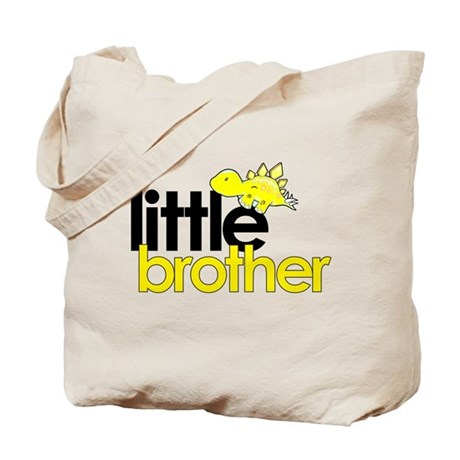 little brother t-shirt dinosaur Tote Bag