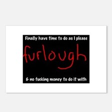 Cool Furlough Postcards (Package of 8)