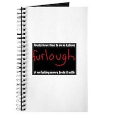 Cute Furlough Journal