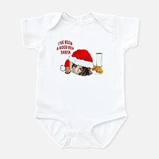 Unique Pug christmas Infant Bodysuit