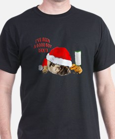 Cool Pug christmas T-Shirt