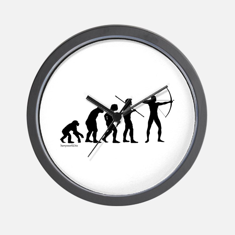 Archer Evolution Wall Clock