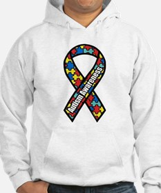 Autism Ribbon Jumper Hoody