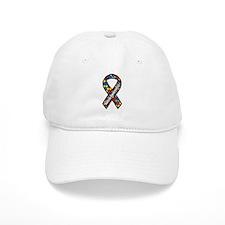 Autism Ribbon Baseball Cap