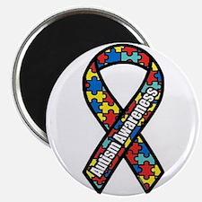 "Autism Ribbon 2.25"" Magnet (10 pack)"