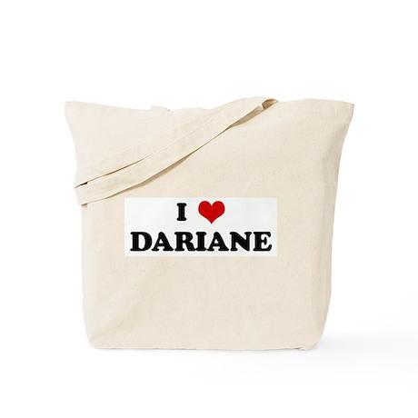 I Love DARIANE Tote Bag