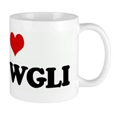 I Love MOWGLI Small Mug