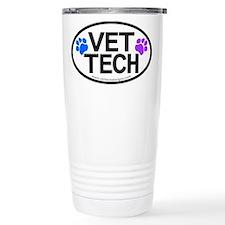 Travel Mug - VET TECH oval design