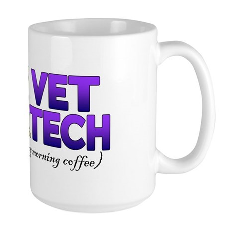 Large Mug - #1 Vet Tech