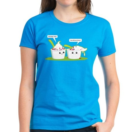 Froyo Uh Oh! Women's Dark T-Shirt