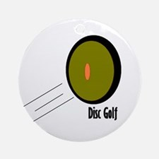 Disc Golf Ornament (Round)