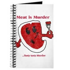 Distressed Meat is Murder Journal