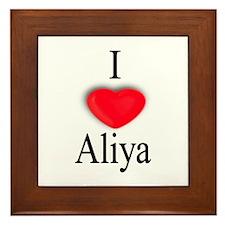 Aliya Framed Tile