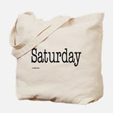 Saturday - On a Tote Bag
