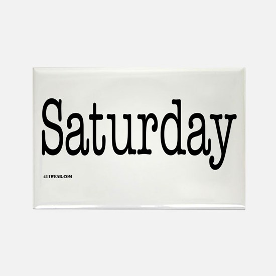 Saturday - On a Rectangle Magnet
