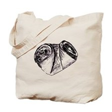 Crushed Can (Recycle!) Tote Bag
