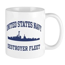 Navy Destroyer Mug