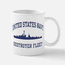 Navy Destroyer Small Small Mug