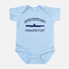 Navy Submarine Infant Bodysuit