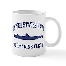 Navy Submarine Mug