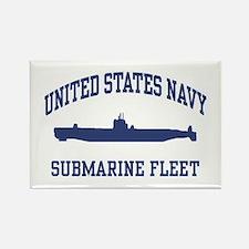 Navy Submarine Rectangle Magnet