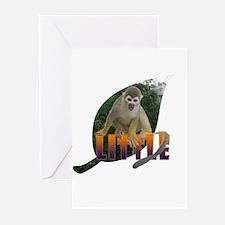 Little Monkey Leaf Greeting Cards (Pk of 10)