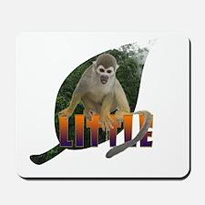 Little Monkey Leaf Mousepad