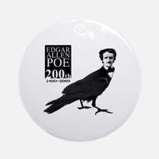 Edgar Allen Poe 200th Ornament (Round)