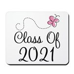 Sweet Pink Class Of 2021 Mousepad