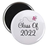 Sweet Pink Class Of 2022 Magnet