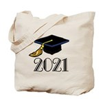 Classic 2021 Grad Tote Bag