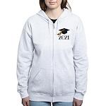 Classic 2021 Grad Women's Zip Hoodie