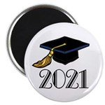 Classic 2021 Grad Magnet