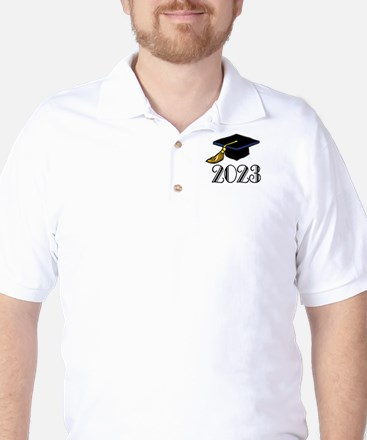 2023 Grad Hat Golf Shirt