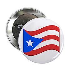 """Puerto Rico Flag 2.25"""" Button"""