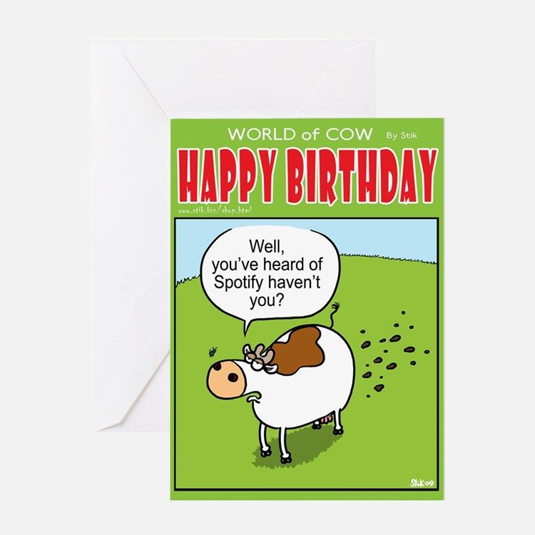 Spotify Greeting Card