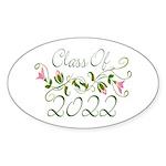 Lovely Class Of 2022 Oval Sticker (50 pk)